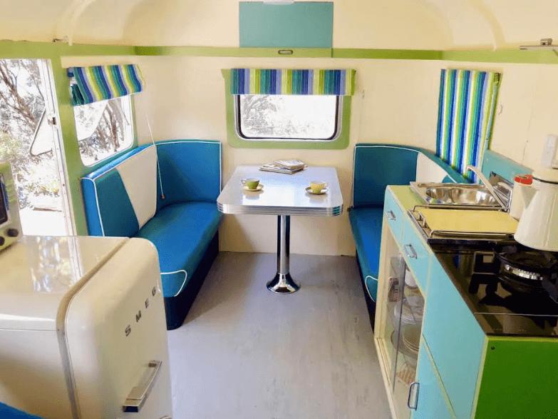 Caravan Restoration NZ | Retro Caravan Interiors | Man Cave